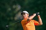 Humphrey Wong of Hong Kong tees off during the 58th UBS Hong Kong Golf Open as part of the European Tour on 09 December 2016, at the Hong Kong Golf Club, Fanling, Hong Kong, China. Photo by Marcio Rodrigo Machado / Power Sport Images