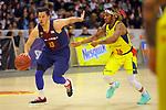 XXXVIII Lliga Nacional Catalana ACB 2017.<br /> FC Barcelona Lassa vs BC Morabanc Andorra: 89-70<br /> Thomas Heurtel vs Andrew Albicy.
