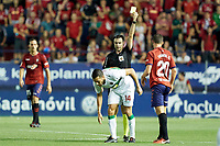 Xabi Torres (midfield; Elche CF) during the Spanish <br /> la League soccer match between CA Osasuna and Elche CF at Sadar stadium, in Pamplona, Spain, on Saturday, <br /> agost 26, 2018.