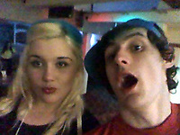 Pictured: Dylan Harries (R)<br /> Re: Dyfed Powys Police have charged 21 year old Dylan Hywel Harries with the attempted murder of 19 year old Katrina Evemy, following an incident in Graig Avenue, Llanelli, west Wales, on the evening of Thursday the 13th April 2017. He has been remanded in custody to appear at Llanelli Magistrates Court on Monday the 17th of April 2017.