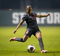 STANFORD, CA - November 9, 2018: Kiki Pickett at Laird Q. Cagan Stadium. The top seeded Stanford Cardinal defeated the Seattle Redhawks 3-0 in the opening round of the NCAA tournament.