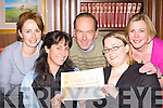 Members of Cairde Nua Kerrys newest social club who meet in the Killarney Avenue Hotel every Tuesday night l-r: Geraldine O' Sullivan, Tricia O'Shea, Dave Sheehan, Lisa O'Neill and Rachel Parsons