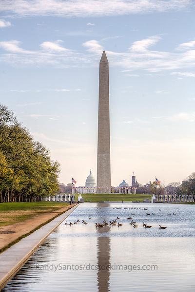 Washington Monument US Capitol National Mall Washington DC