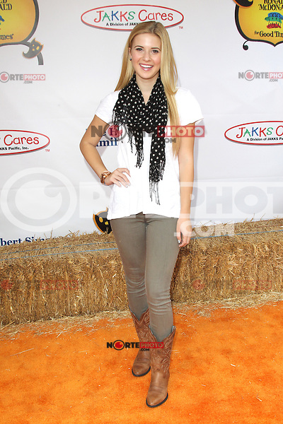 UNIVERSAL CITY, CA - OCTOBER 21:  Caroline Sunshine at the Camp Ronald McDonald for Good Times 20th Annual Halloween Carnival at the Universal Studios Backlot on October 21, 2012 in Universal City, California. ©mpi28/MediaPunch Inc. /NortePhoto