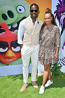 "LOS ANGELES, USA. August 10, 2019: Sterling K. Brown & Ryan Michelle Bathe at the premiere of ""The Angry Birds Movie 2"" at the Regency Village Theatre.<br /> Picture: Paul Smith/Featureflash"