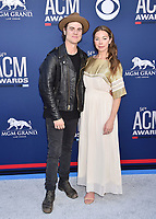 LAS VEGAS, CA - APRIL 07: Ross Copperman (L) and Katlin Copperman attend the 54th Academy Of Country Music Awards at MGM Grand Hotel &amp; Casino on April 07, 2019 in Las Vegas, Nevada.<br /> CAP/ROT/TM<br /> &copy;TM/ROT/Capital Pictures
