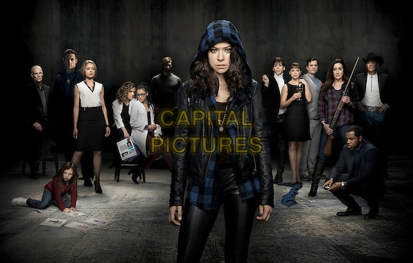 Tatiana Maslany &amp; cast<br /> in Orphan Black (Season 2)<br /> *Filmstill - Editorial Use Only*<br /> CAP/FB<br /> Image supplied by Capital Pictures