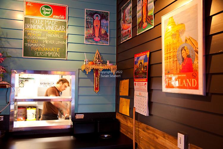 The Whiskey Soda Lounge in Portland, Oregon's SE Neighborhood serves up aahaan kap klaem, the drinking food of Thailand, and the same drinks menu as its mother restaurant, Pok Pok