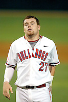 Dusty Robinson, Fresno State Bulldogs.Photo by:  Bill Mitchell/Four Seam Images.