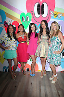 """WEST HOLLYWOOD - JUN 15: Amy Tangerine, Veena Crownholm, Tammin Sursok, Erin Ziering, Rachel Pitzel at the """"At Home with the Zierings"""" Blog Launch Party at Au Fudge on June 15, 2016 in West Hollywood, California"""