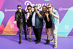 """The jury of the program with Dani Reus attends to the presentation of the new Movistar+ Talent Show, """"Acapela"""" for channel #0 in Madrid. May 26, 2016. (ALTERPHOTOS/Borja B.Hojas)"""
