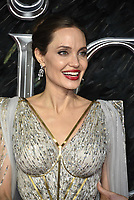 Angelina Jolie<br /> 'Maleficent: Mistress of Evil' UK film premiere at the BFI Imax Waterloo, London England on October 09, 2019.<br /> CAP/Phil Loftus<br /> ©Phil Loftus/Capital Pictures /MediaPunch ***FOR USA ONLY***