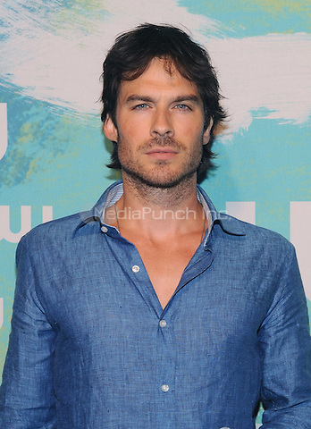 NEW YORK, NY - MAY 19:  Ian Somerhalder attends the 2016 CW Upfront presentation at the London Hotel on May 19, 2016 in New York City. Photo Credit: John Palmer/ Media Punch