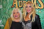 Premiere Barcelona La Familia Addams.<br /> Rebeca con su madre.