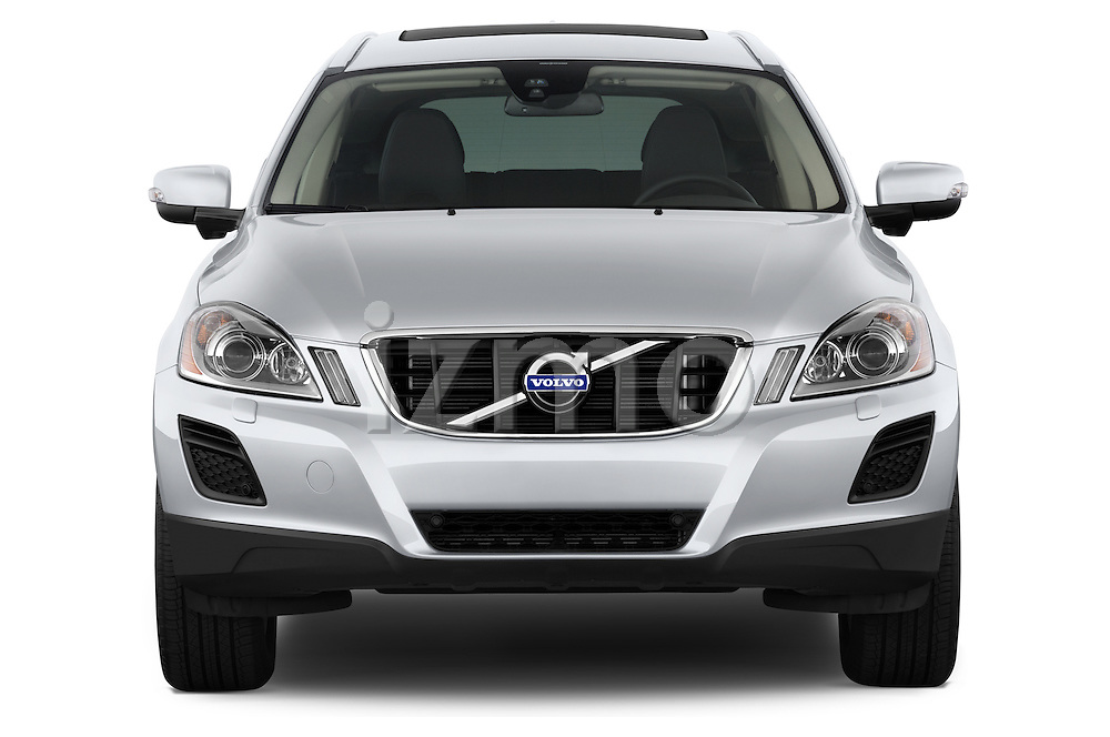 Straight front view of a 2013 Volvo XC60