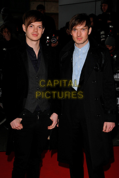 RICHARD JONES & DAN GILLESPIE SELLS of The Feeling.Arrivals for the Capital Radio 95.8 FM Awards in aid of Help a London Child, held at Riverbank Park Plaza Hotel, London, England 20th March 2008. .half length .CAP/CAN.©Can Nguyen/Capital Pictures