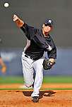 5 March 2011: New York Yankees' pitcher Ryan Pope on the mound during a Spring Training game against the Washington Nationals at George M. Steinbrenner Field in Tampa, Florida. The Nationals defeated the Yankees 10-8 in Grapefruit League action. Mandatory Credit: Ed Wolfstein Photo