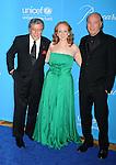 BEVERLY HILLS, CA. - December 10: Tony Bennett, son Danny Bennett and daughter Antonia Bennett  attend the UNICEF Ball honoring Jerry Weintraub at The Beverly Wilshire Hotel on December 10, 2009 in Beverly Hills, California.