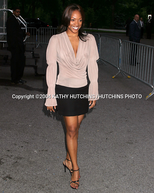 ©2004 KATHY HUTCHINS /HUTCHINS PHOTO.FOX-TV UPFRONTS.CENTRAL PARK BOATHOUSE.NEW YORK CITY, NY.MAY 20, 2004..KELLITA SMITH