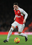 Arsenal's Mesut Ozil in action<br /> <br /> Barclays Premier League- Arsenal vs AFC Bournemouth - Emirates Stadium - England - 28th December 2015 - Picture - David Klein/Sportimage