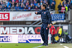 05.10.2019, Benteler Arena, Paderborn, GER, 1.FBL, SC Paderborn 07 vs 1. FSV Mainz 05<br /> <br /> DFL REGULATIONS PROHIBIT ANY USE OF PHOTOGRAPHS AS IMAGE SEQUENCES AND/OR QUASI-VIDEO.<br /> <br /> im Bild / picture shows<br /> Jan-Moritz Lichte (Co-Trainer 1. FSV Mainz 05) in Coachingzone / an Seitenlinie, <br /> <br /> Foto © nordphoto / Ewert