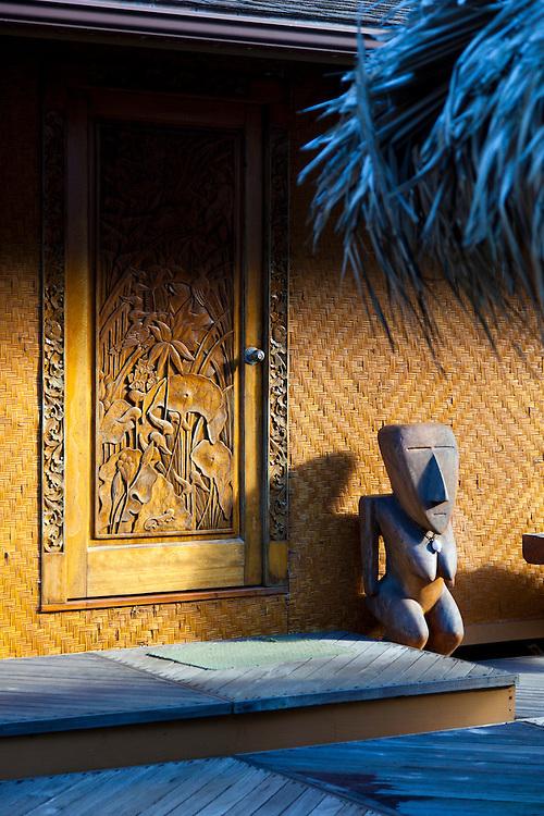 Maui, Hawaii. The Bamboo Inn, Hana, Maui