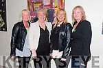 June McAuley,Joan Walsh,Sheila Kelly and Patsy Stone enjoying the  IT Tralee Musical Society Concert in aid of Pieta House in the Fels Point Hotel on Thursday