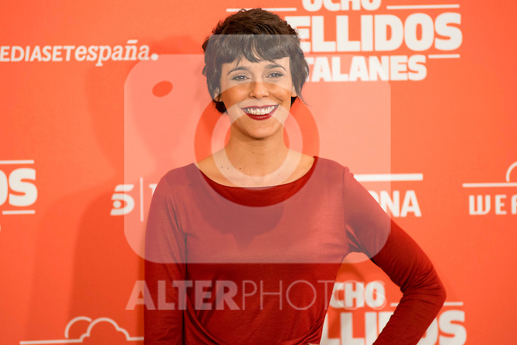 "Spanish actress Belen Cuesta during the presentation of the film ""Ocho Apellidos Catalanes"" in Madrid, November 17, 2015.<br /> (ALTERPHOTOS/BorjaB.Hojas)"