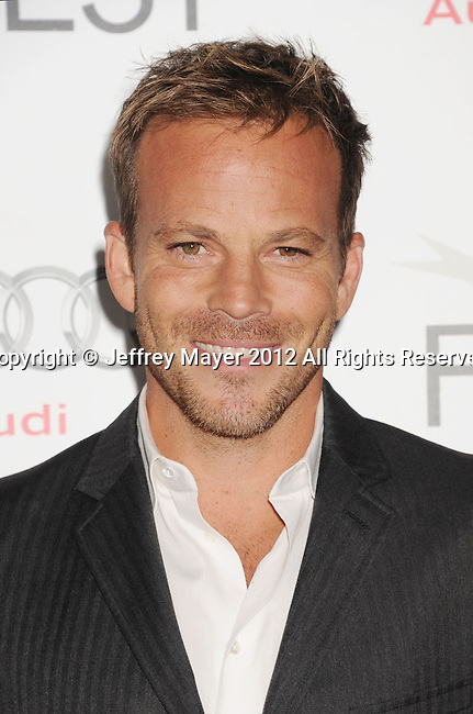HOLLYWOOD, CA - NOVEMBER 07: Stephen Dorff arrives at the 'Zaytoun' special screening during AFI Fest 2012 at Grauman's Chinese Theatre on November 7, 2012 in Hollywood, California.
