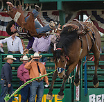 A photograph taken during the Reno Rodeo in Reno, Nevada on Sunday, June 19, 2016.