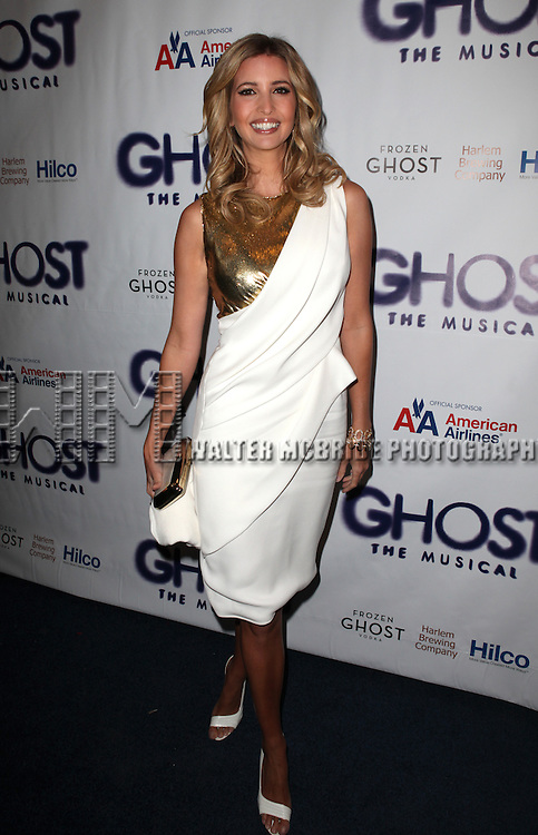 Ivanka Trump.attending the Broadway Opening Night Performance of 'GHOST' a the Lunt-Fontanne Theater on 4/23/2012 in New York City. © Walter McBride/WM Photography .