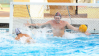 STANFORD, CA - November 26, 2010: Brian Pingree in Men's  water polo game, Stanford against UC-Irvine (MPSF Tournament). Stanford won 8-7.