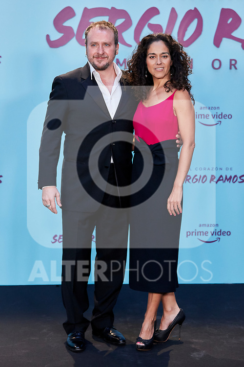 "Fernando Cayo attends to ""El Corazon De Sergio Ramos"" premiere at Reina Sofia Museum in Madrid, Spain. September 10, 2019. (ALTERPHOTOS/A. Perez Meca)"
