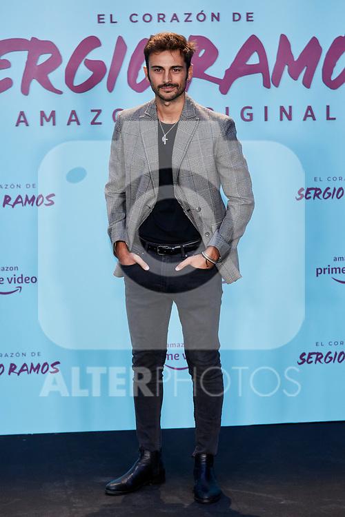 "Ruben Bernal attends to ""El Corazon De Sergio Ramos"" premiere at Reina Sofia Museum in Madrid, Spain. September 10, 2019. (ALTERPHOTOS/A. Perez Meca)"