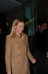 Gwyneth Paltrow departs a benefit in Manhattan on October 17, 2001..