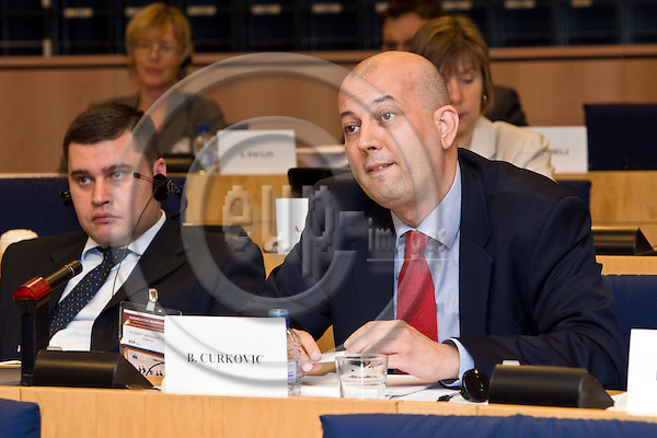 BRUSSELS - BELGIUM - 06 OCTOBER 2011 -- European Training Foundation (ETF) Corporate Conference 2011 at EP - ?Qualifications Frameworks, from Concepts to Implementation?. -- B. Curkovic --  PHOTO: Juha ROININEN /  EUP-IMAGES
