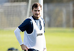 St Johnstone Training…27.10.17<br />Paul Paton pictured during training this morning at McDiarmid Park ahead of tomorrows trip to Partick Thistle<br />Picture by Graeme Hart.<br />Copyright Perthshire Picture Agency<br />Tel: 01738 623350  Mobile: 07990 594431