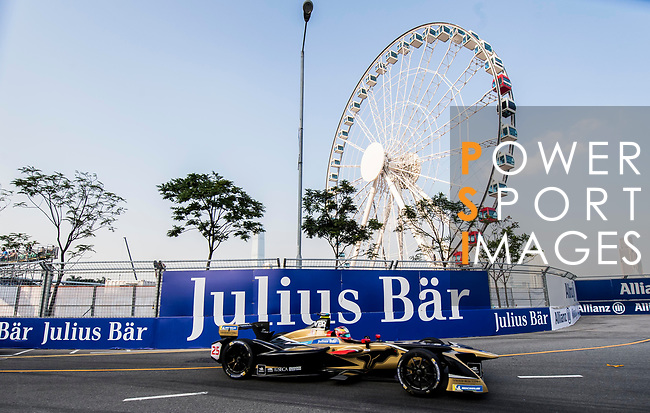 Jean-Eric Vergne of France from TECHEETAH competes during the FIA Formula E Hong Kong E-Prix Round 2 at the Central Harbourfront Circuit on 03 December 2017 in Hong Kong, Hong Kong. Photo by Marcio Rodrigo Machado / Power Sport Images