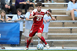 27 November 2011: Indiana's Matt McKain. The University of North Carolina Tar Heels defeated the Indiana University Hoosiers 1-0 in overtime at Fetzer Field in Chapel Hill, North Carolina in an NCAA Men's Soccer Tournament third round game.