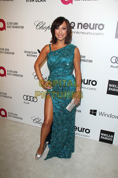 WEST HOLLYWOOD, CA - March 02: Cheryl Burke at the 22nd Annual Elton John AIDS Foundation Oscar Viewing Party Arrivals, Private Location, West Hollywood,  March 02, 2014. <br /> CAP/MPI/JO<br /> &copy;JO/MPI/Capital Pictures