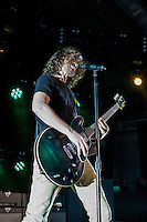 Soundgarden performing at the Sidney Myer Music Bowl, Melbourne, 1 February 2012