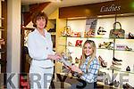 Bernice Dowling-Hoffman, McKenzie Keane  celebrate the 60th Anniversary of John Dowlings Shoe's
