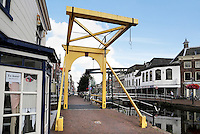 Nederland Maassluis.  2016 08 05.  Fortegrachtbrug.  Foto Berlinda van Dam / Hollandse Hoogte