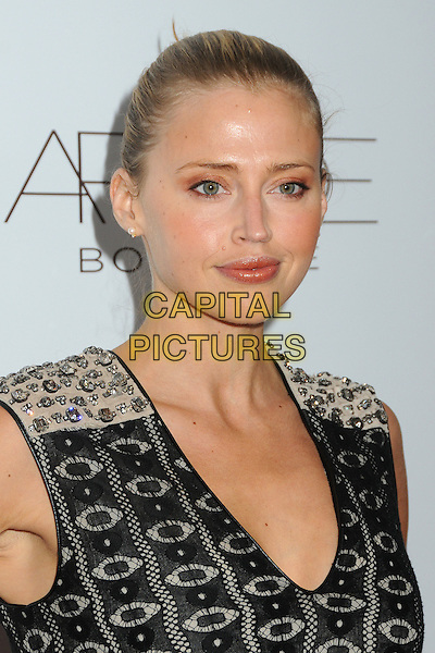 Estella Warren.ARCADE Boutique's 2nd Annual Autumn Party held at The London West Hollywood Hotel, West Hollywood, California, USA..26th October 2011.headshot portrait sleeveless black grey gray print.CAP/ADM/BP.©Byron Purvis/AdMedia/Capital Pictures.
