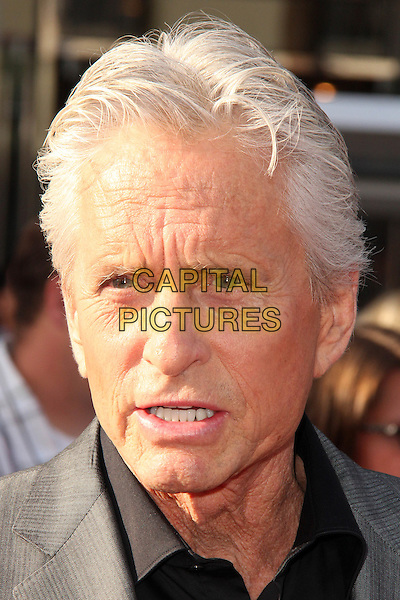 HOLLYWOOD, CA - JUNE 29: Michael Douglas at the premiere of Marvel's 'Ant-Man' at the Dolby Theatre on June 29, 2015 in Hollywood, California. <br /> CAP/MPI/DC/DE<br /> &copy;DE/DC/MPI/Capital Pictures