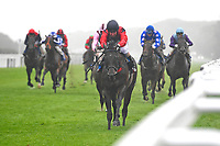 Winner of The British EBF Molson Coors Novice Stakes Div 2  Ipressor ridden by Martyn Dwyer and trained by Marcus Tregoning  during Horse Racing at Salisbury Racecourse on 14th August 2019
