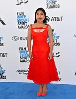 SANTA MONICA, CA. February 23, 2019: Yalitza Aparicio at the 2019 Film Independent Spirit Awards.<br /> Picture: Paul Smith/Featureflash