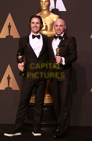 26 February 2017 - Hollywood, California - Alan Barillaro, Marc Sondheimer. 89th Annual Academy Awards presented by the Academy of Motion Picture Arts and Sciences held at Hollywood &amp; Highland Center. <br /> CAP/ADM/TB<br /> &copy;TB/ADM/Capital Pictures