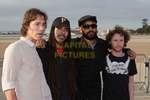 "INCUBUS.World Film Premiere of Columbia Pictures' ""Stealth"" .held at the Naval Air Station North Island (NASNI), Coronado, California, USA,17 July 2005..half length band.Ref: ADM.www.capitalpictures.com.sales@capitalpictures.com.©Zach Lipp /AdMedia/Capital Pictures."