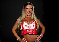 SAO PAULO, SP, 24 DE FEVEREIRO 2012 - CAMAROTE BAR BRAHMA - A Rainha da Bateria da Gavioes da Fiel, Tatiane Minerato e vista no Camarote Bar Brahma, na noite do Desfile das Campeas do Carnaval de Sao Paulo, na noite desta sexta, 24 no Sambodromo do Anhembi regiao norte da capital paulista. (FOTO: MILENE CARDOSO - BRAZIL PHOTO PRESS).